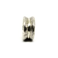 anel roda em prata de lei