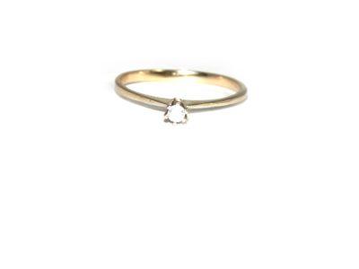 anel solitário