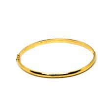 Bracelete Fino em ouro 18 K Masculino e Feminino - Oca