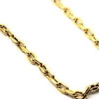 Cordão Cartier ou Cadeado Masculino ouro 18 K