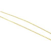 Cordão Elo Laço em ouro 18K com 40 cm
