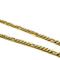 Cordão Elo 5x1 Grosso em ouro 18 k