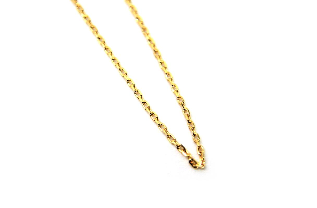 8f38e5945f2 Cordão Cartier (Cadeado) ouro 18 k com 60 cm - Igni JoiasIgni Joias