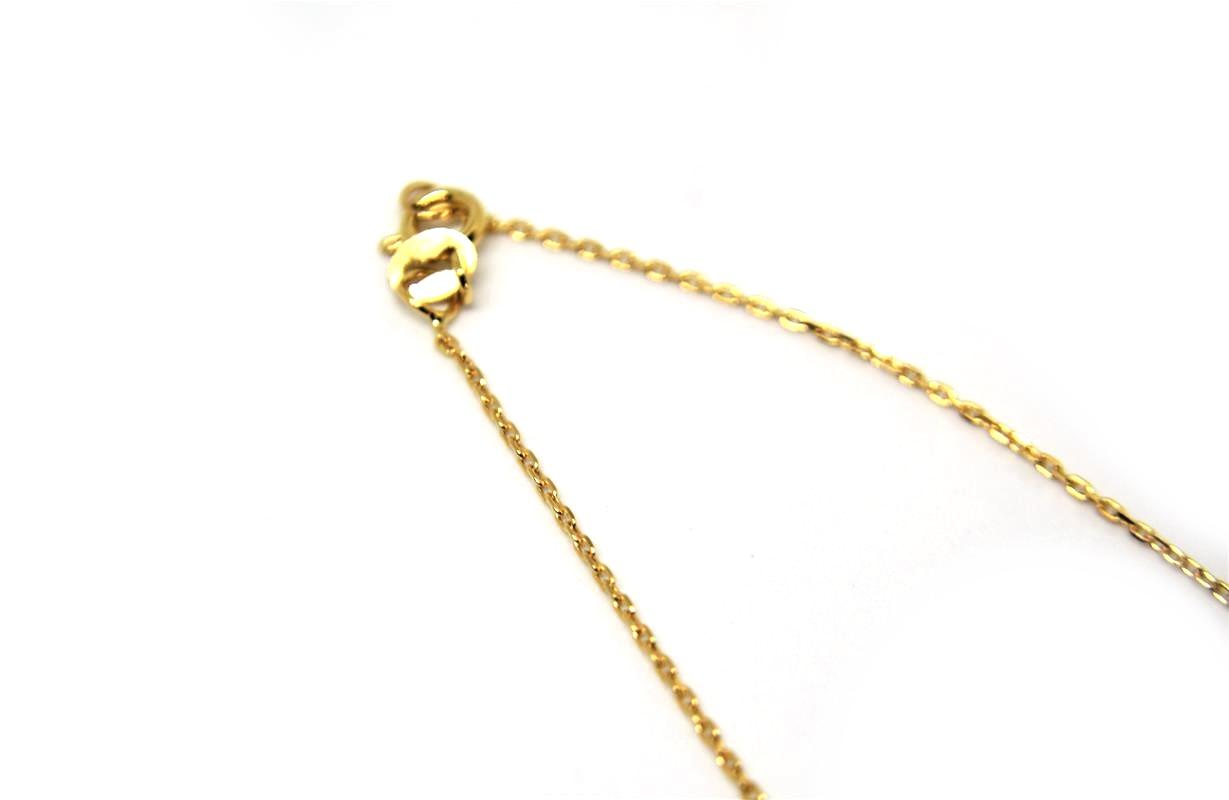 49fe43ea2dc Cordão Cartier (Cadeado) ouro 18 k com 50 cm - Igni JoiasIgni Joias