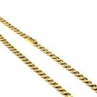 Cordão Groumet ou Grumet em ouro 18 K