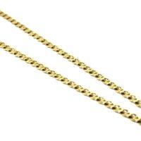 Cordão Elo Estilo Gucci em ouro 18 K