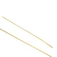 Cordão Groumet Fino em ouro 18 K com 40 cm