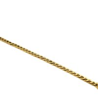 Pulseira Groumet em ouro 18k grossa-masculina