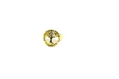 Anel Árvore da Vida em Ouro 18K