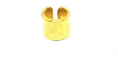 Anel Bateado em Ouro 18 K