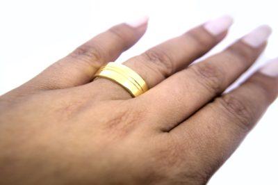 anel raiado