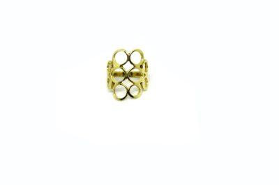 Anel Círculos em ouro 18 K