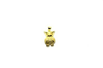Pingente Coruja em ouro 18K