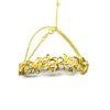 Pulseira Flor em ouro 18K e elo português
